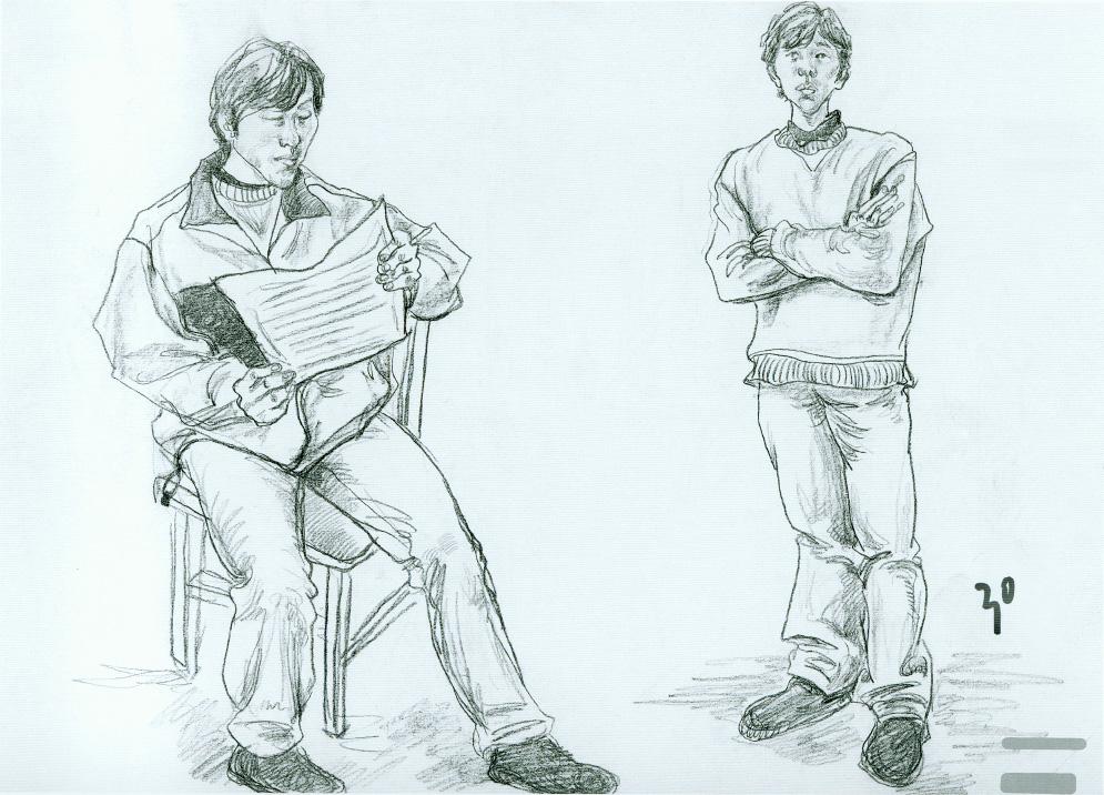 欧式椅子速写图片大全