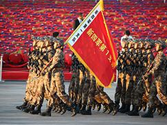 抗战胜利70周年大阅兵开幕前 天安门广场最后的彩排[组图]