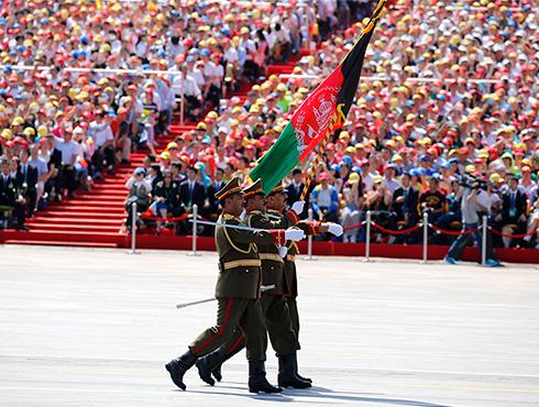 阿富汗军队代表队[组图]