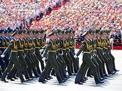 白俄罗斯军队方队[组图]