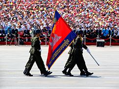 柬埔寨军队代表队[组图]