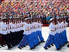 古巴革命武装力量方队[组图]