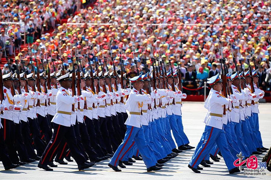 古巴革命武裝力量方隊[組圖]