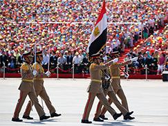埃及武装力量方队[组图]
