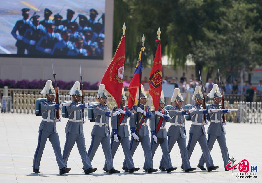 委內瑞拉軍隊代表隊[組圖]