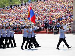 蒙古国武装力量方队[组图]