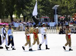 巴基斯坦武装力量方队[组图]